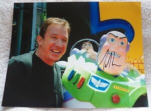 Movie & TV Star Tim Allen Signed Toy Story Signed 8x10 Photo Auto