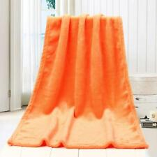50x70cm Fashion Solid Soft Throw Kids Blanket Warm Coral Plaid Blankets Flannel Sky Blue