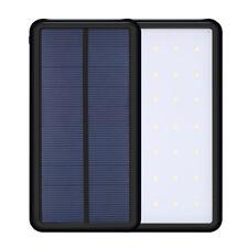 800000mAh Portable 28 LED Solar Power Bank Dual USB LED Back up Charger Battery