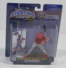 2001 Starting Lineup 2,Baseball,Hasbro action figure,Jim Edmonds,extended series