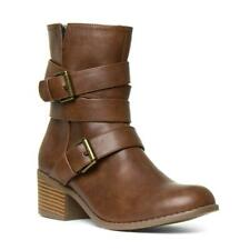 Womens Boot Buckle Boot in Tan by Lilley & Skinner Size UK 3,4,5,6,7,8