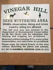 Vintage Vinegar Hill Deer Wintering Area Conservation Dec