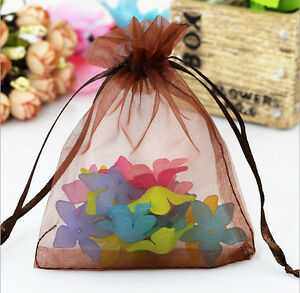 New Organza Gift Bags Wedding Christmas Party Favor Packaging Pouches