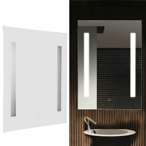 Anti-Fog Dimmable LED Bathroom Vanity Mirror Large Wall Makeup Mirror with Ligh