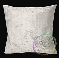 Mf29a Black Plain Smooth Silky Soft Velvet Cushion Cover//Pillow Case Custom Size