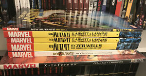 New Mutants TPB Lot Set Zeb Wells Abnett Lanning Marvel Comics Complete