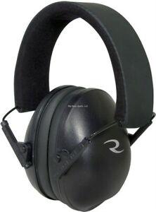 Radians Tactical Low Profile Passive Earmuff w/Adjustable Headband Black CSE40BX