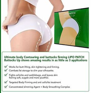 ULTIMATE BUTTOCKS UP Enhancement Shape BODY WRAPS it works to firm tone 4 pair