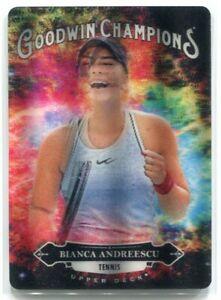 2020 Upper Deck Goodwin Champions Splash of Color 3d 127 Bianca Andreescu