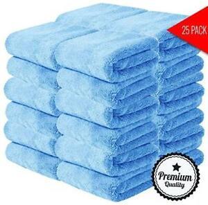 Premium Quality Microfiber Towels - Packs (400 GSM)