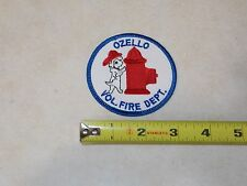 Vintage Ozello Volunteer Fire Dept ~ Crystal River, Florida Fire Dept Patch  FL