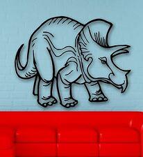 Wall Stickers Vinyl Decal Nursery Funny Dinosaur Animals For Kids (ig815)