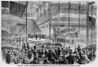 ATLANTIC CABLE CELEBRATION 1858 HISTORY CYRUS FIELD CRYSTAL PALACE ARCHITECTURE