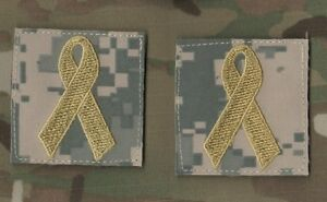 """Kaboul Joint Spéciale Opérations Task Force Jsotf-A Velkrö 2 """" 2-TAB : Jaune"""