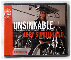 NEW Unsinkable CD A Young Woman's Courageous Battle on High Seas Abby Sunderland