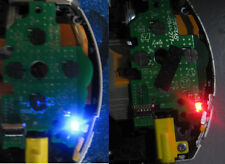 PSP 1000 Blue/Red LED Power switch board