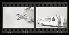 Marvin Schwartz w/ 'Anaconda' Dragster Trailer - Vintage 35mm Race Negatives