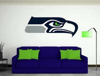 SEATTLE SEAHAWKS Decal  Car Truck Window, Wall, Cornhole Vinyl Sticker Customize