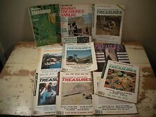 LOT (10 Issues) WESTERN & EASTERN TREASURES Magazine Gold Silver Mines Coins