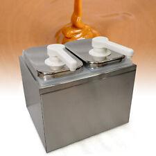 Commercial Stainless Pump 2l Condiment Dispensers Sauce Pump Dispenser 2 Head