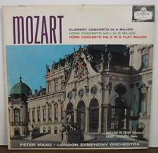 Mozart Clarinet Concerto In A Major Peter Maag CM.9247 092917mne