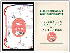 Haslam System of Dresscutting - Measurement Boards & Foundation Draftings