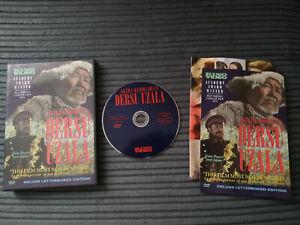 DERSU UZALA RARE DVD UK PLAYABLE SUBTITLES AKIRA KUROSAWA  KINO VIDEO GOOD USED