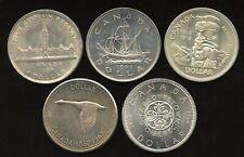 Canada Commemorative Coin Set - Includes 5 Silver Dollars