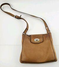 Fossil Crossbody Brown Genuine Leather Purse Handbag