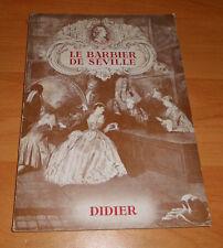 Le Barbier de Seville + Didier + in  französischer Sprache  ++ 1960