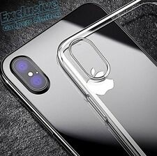 Shockproof 360° Silicone Protective Clear Case Cover For iPhone X 8 7 6s 6 5 5s