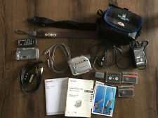 Sony Handycam DCR-HC22E PAL MiniDV Camcorder + viel Zubehör