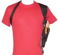 """Vertical Carry Shoulder Holster for 4"""" Barrel 357 - 44 Revolvers"""
