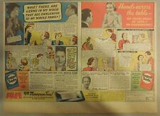 Super Suds Ad: What ! There Are Germs In My Wash ! Super Suds Ad! 1930's