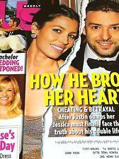 Justin Timberlake & Jessica Biel Us Weekly March 28 2011