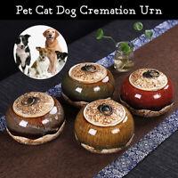 Pet Urn BoxDurable China Ceremic Pets Dog Cat Cremation Urn Peaceful Memorial