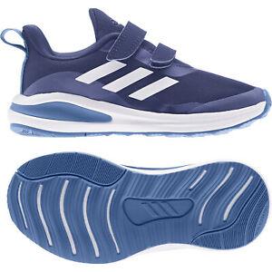 Adidas FortaRun CF blue-white-blue - Laufschuh Kinder Sportschuh Turnschuh