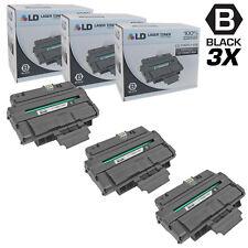 LD © Compatible Xerox 106R01486 Set of 3 Black Toner WorkCentre 3210 3220