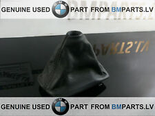 GENUINE BMW E60 E61 E60 LCI E61 AUTOMAT GEAR SELECTING LEVER LEATHER 7526099 RHD