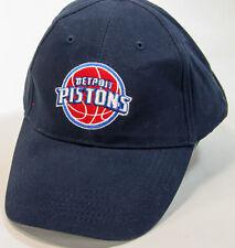 Detroit Pistons Adjustable Back Ball Cap Hat in Navy Bad Boys NEW