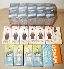 Huge Lot of 24 Assorted 9004 Halogen Light Bulbs