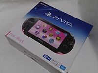 USED PlayStation PS Vita Wi-Fi Console Slim 2000 Pink Black