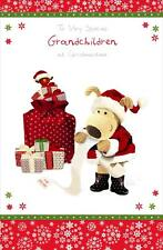BOOFLE TO VERY SPECIAL GRANDCHILDREN CHRISTMAS CARD NEW GIFT