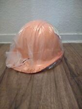Cap Style Hard Hat 4 Point Ratchet Suspension Orange Big Sale Now