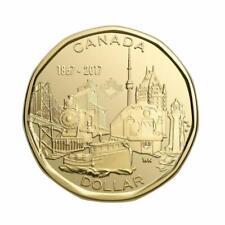 Canada 1 Dollar Coin Loonie 150th Anniversary of Canada, 2017