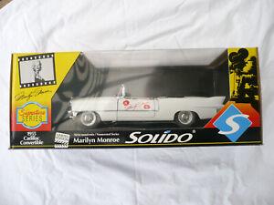 SOLIDO 1955 Cadillac Convertible Marilyn Monroe LIMITED EDITION NIB