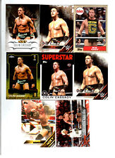 Big Cass Wrestling Lot of 8 Different Trading Cards 2 Inserts WWE NXT BC-B1