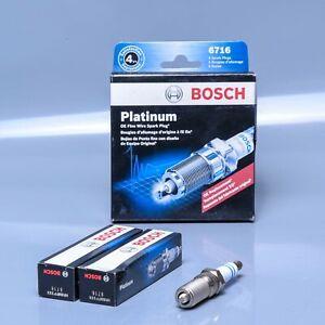 Spark Plug-OE Fine Wire Platinum Bosch 6716 - 2 Pack