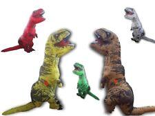 T-Rex Jurassic DINOSAUR Inflatable Adult Costume TRex Jurrassic UK Yellow
