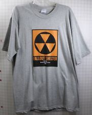 The Who No. American Tour 1973 Fallout Shelter XL T-shirt